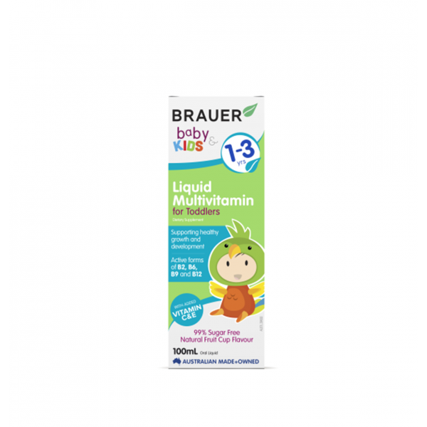 Brauer Baby and Toddler Multivitamin Liquid 100
