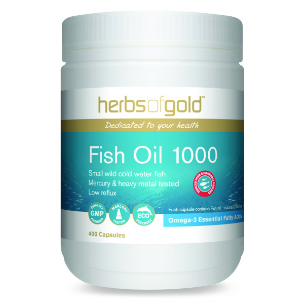Herbs of Gold Fish Oil 1000