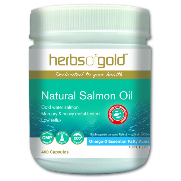 Herbs of Gold Natural Salmon Oil