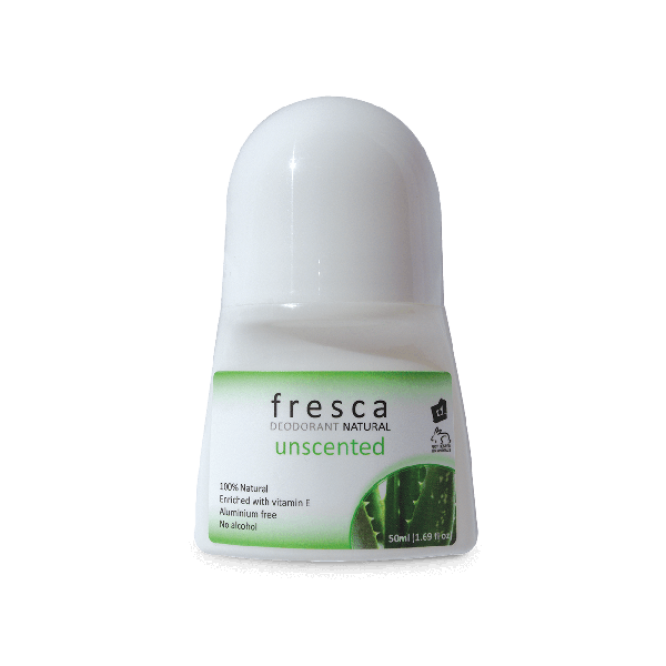 Fresca Natural Deodorant Unscented