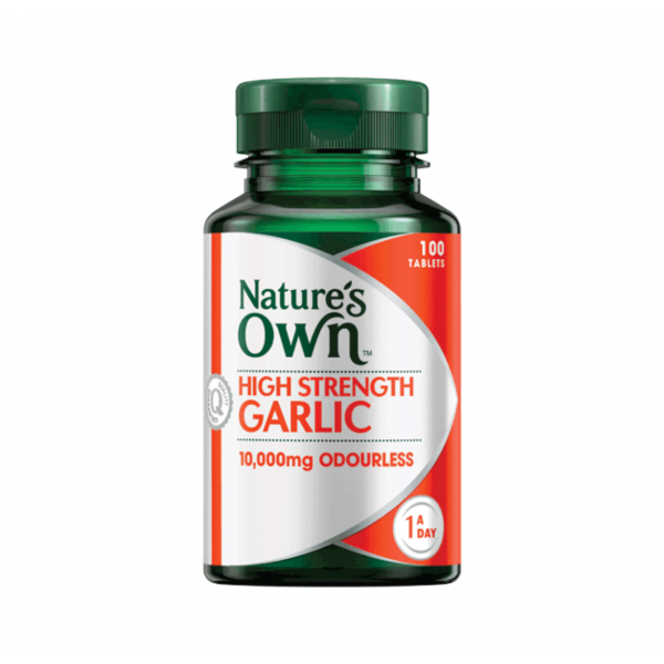 Natures Own High Strength Garlic 10,000 100Tabs