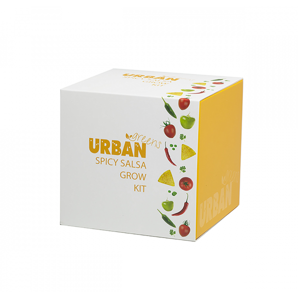 URBAN GREENS Grow Kit  Spicy Salsa 10x10cm