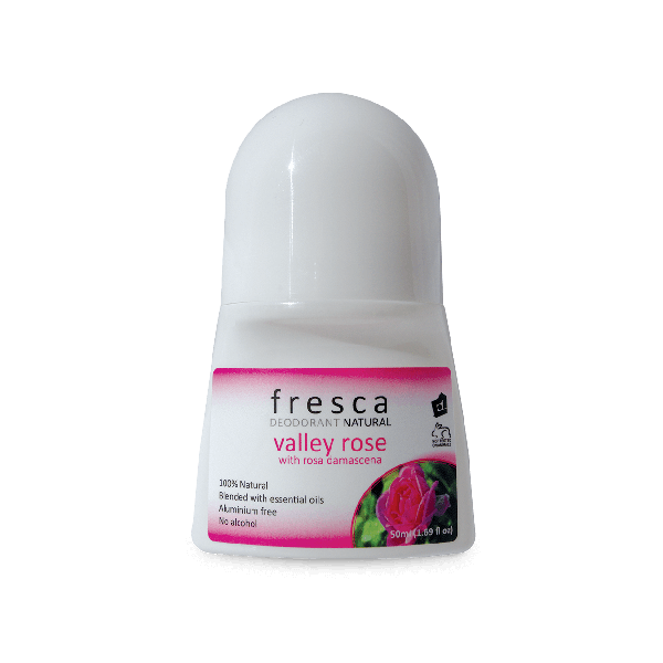 Fresca Natural Deodorant valler rose