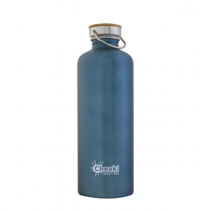 CHEEKI Stainless Steel Bottle Teal 'Thirsty Max' 1.6L