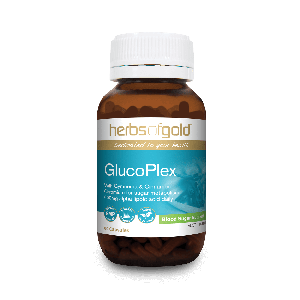 Herbs of Gold Glucoplex 60 Caps